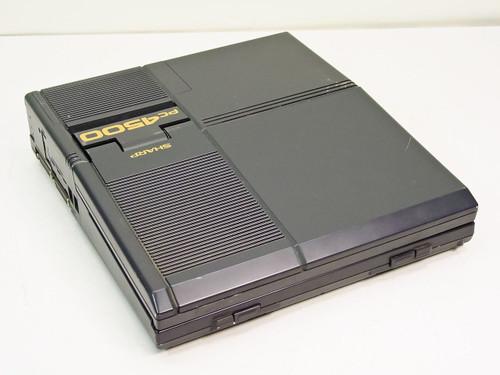 Sharp PC 4500 Laptop No AC adapter (PC-4502)