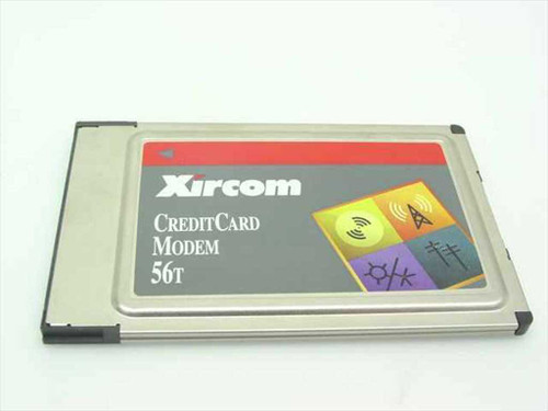 Xircom Credit Card Modem 56T for Vintage Laptops (CM56T)