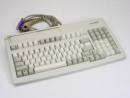 Cherry MY 7000 Compact MSR Keyboard PS/2 104-Key Mechanical G81-7000LPBUS