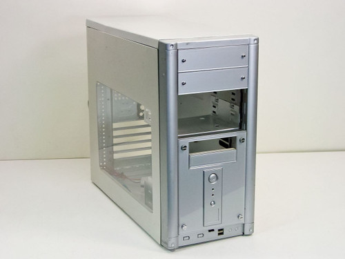 Anatec Tower Computer Case no Power Supply Silver