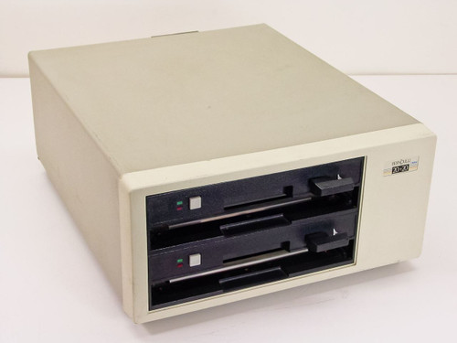 "Iomega A220H Bernoulli Box 20 + 20 Dual 8.25"" Vintage Drive Alpha-20H"