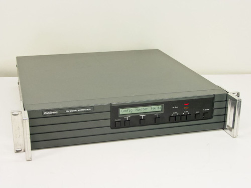 ComStream PSK Digital Modem, DS-1 Balanced, Framing Unit, M&C, 140 MHz Modulator