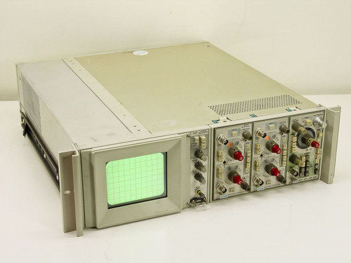Tektronix 50 MHz Storage Oscilliscope with Plug-ins As Is (5441)