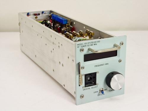 Microdyne RF Tuner 52-88MHz - Needs Repair 1111-VT