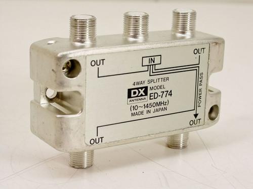 DX  4 Way Splitter  ED-774