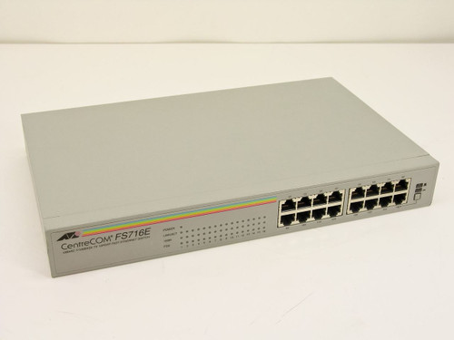 Allied Telesyn CentreCOM Ethernet Switch FS716E