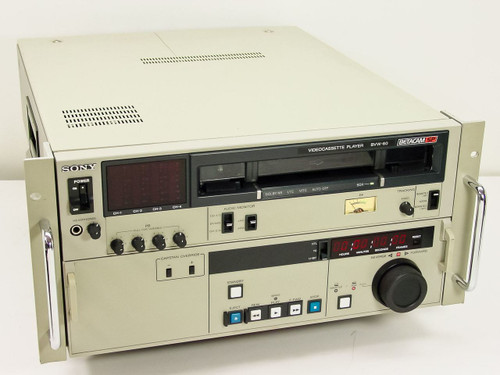 Sony Video Cassette Player (BVW-60)