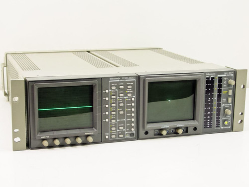 Tektronix Waveform / Vector Monitor / Stereo Audio Monitor (1745A / 760A)