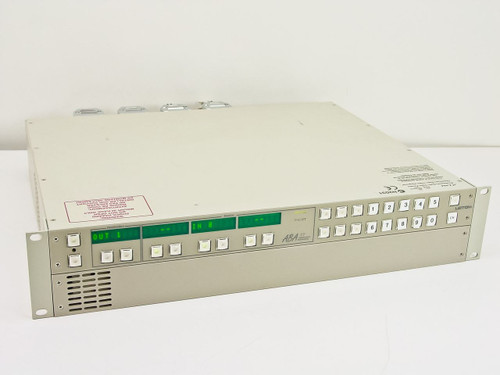 LEITCH ABA XY Chassis w/ ASM 32X4 Mono Audio Router FR-X&2RU-2AC