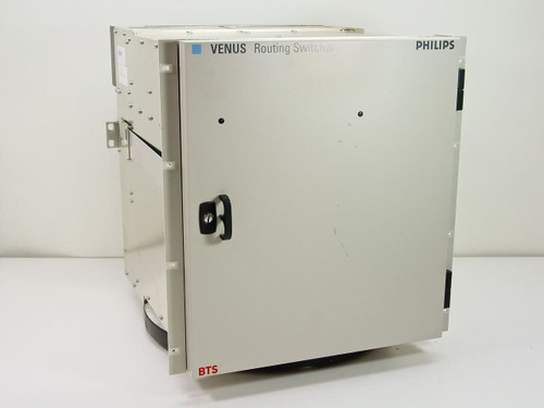 Philips BTS Venus 96 x 96 Video Router Chassis with Dual Power Supplies and VS-4