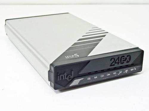 Intel 2400 EX MNP Class 5 Modem PCEM7424