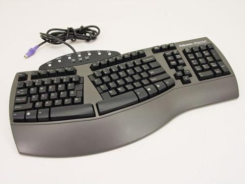 Fellowes PS/2 Keyboard KB-9938 Microban (98915)