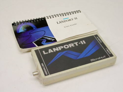 Microtest Lanport-II Network Testing Device 3851-02