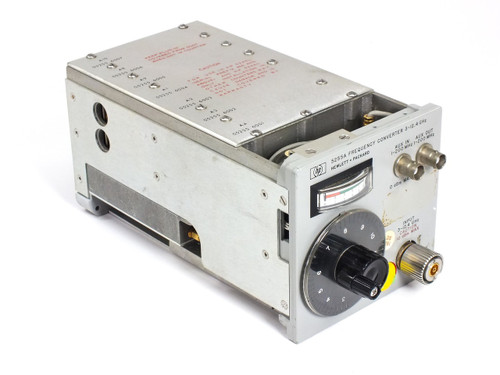 HP / Agilent 5255A 3 - 12.4 GHz Frequency Converter Plug-In Unit Extends to 12.4