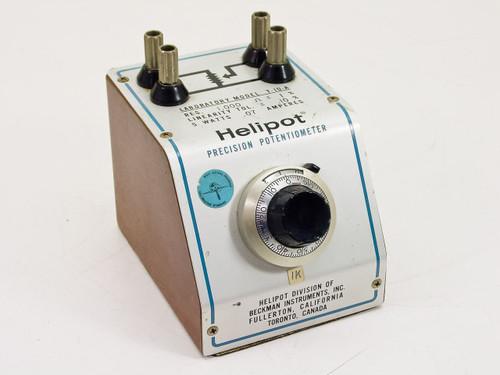 Beckman Laboratory Helipot Precision Potentiometer (T-10-A)
