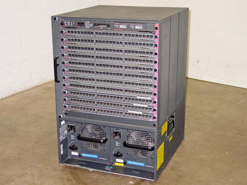 Cisco Catalyst 5500 13-Slot Chassis Loaded Network Cards