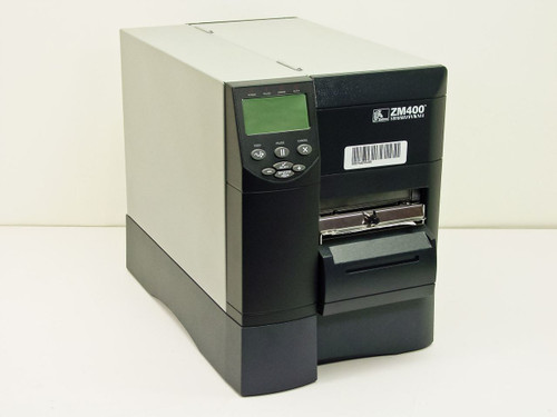 Zebra ZM400-3001-1000D Thermal Barcode Printer USB Ethernet 300 DPI
