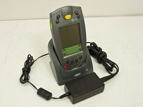 Symbol  SPT1800 Palm Power Barcode reader w/ Cradle