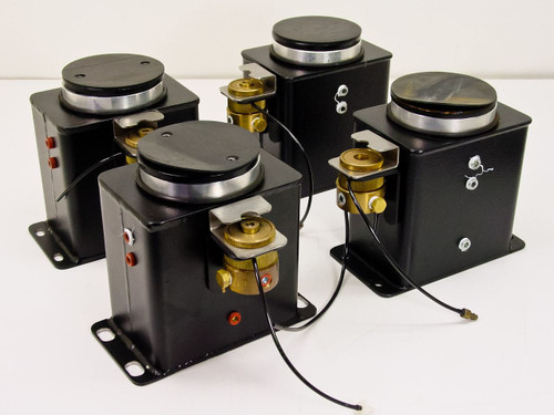 """TMC Lot of 4 Air Vibration Isolation Pods w/ Pressure (5""""x3.5""""x6"""")"""