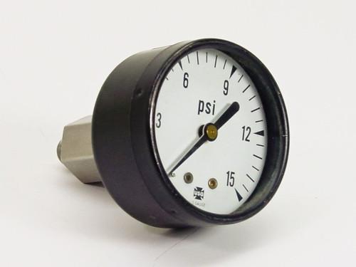 USG US Gauge Pressure Gauge (15 PSI)