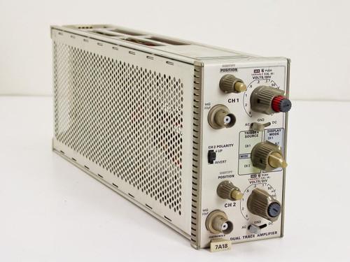 Tektronix Dual Trace Amplifier (7A18)