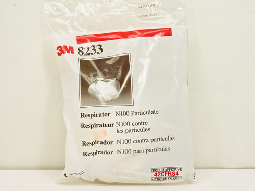 3M Respirator N100 Particulate (8233)