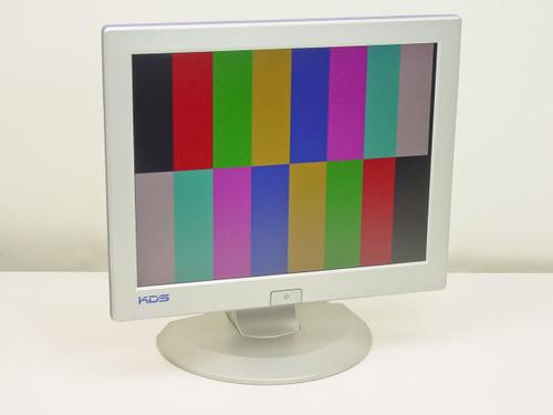"""KDS 15"""" SVGA Flat Panel LCD Color Monitor no Power Supply (Rad-5)"""