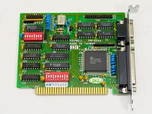 Kouwell ISA 8-Bit Serial & Parallel Card (KW-524H)