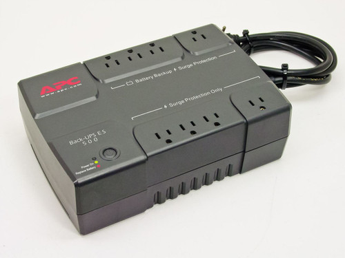 APC Back 8 Outlet UPS - No Battery BE500R