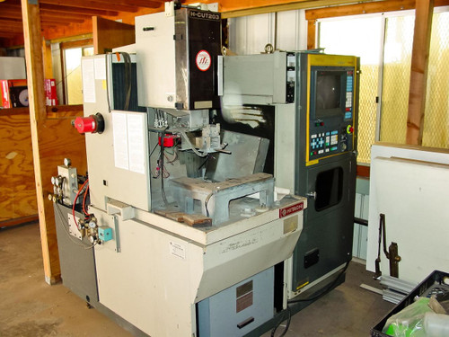 Hitachi Wire Electrical Discharge Machine EDM H-Cut 203M-AWF