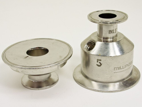 "Millipore Filter Housing Inlet 1"" I.D. , 1""x 2.5"" body I.D (MH)"