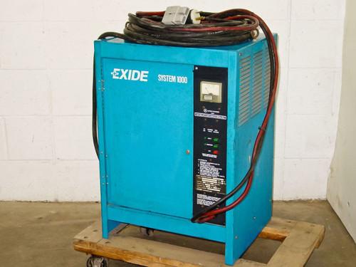 Exide System 1000 24 Volt 60 ADC Battery Charger, 208-24 (ES 1-12-380-B)