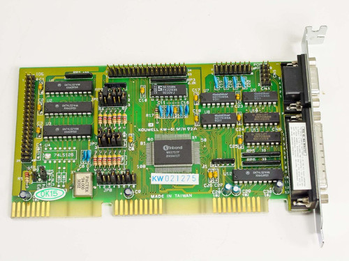 Kouwell 16 Bit ISA Serial Parallel Controller Card (KW-556F/H)