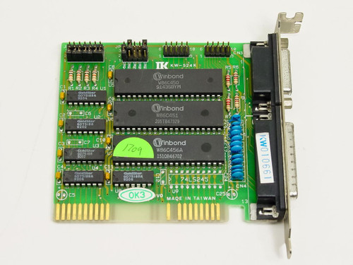 Kouwell 8-Bit ISA Card KW-524K