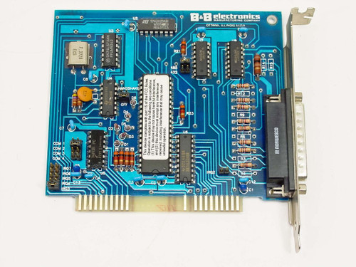 B&B Electronics 1680 1-Port RS-422/485 Serial Card 8-Bit ISA - 422ICC