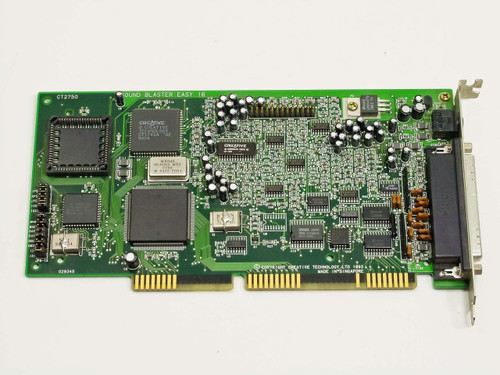 Creative Technology Sound Blaster Easy 16 (CT2750)