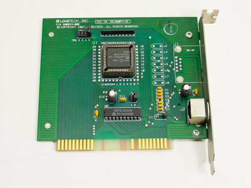 Logitech 200033-008 8 Bit Bus Mouse Inport Adapter Controller Card