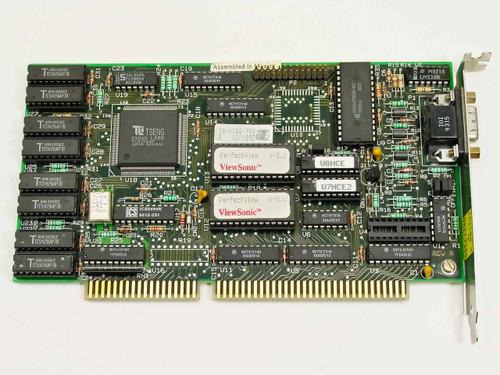 ViewSonic PV-1Mplus PerfectView V-5.2 ISA VGA Video Card