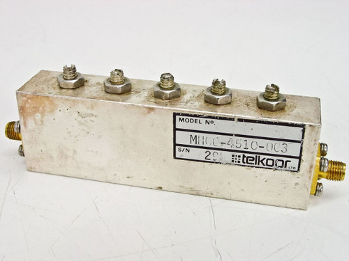 Telkoor HM06-4510-003 RF Microwave Filter - AS IS