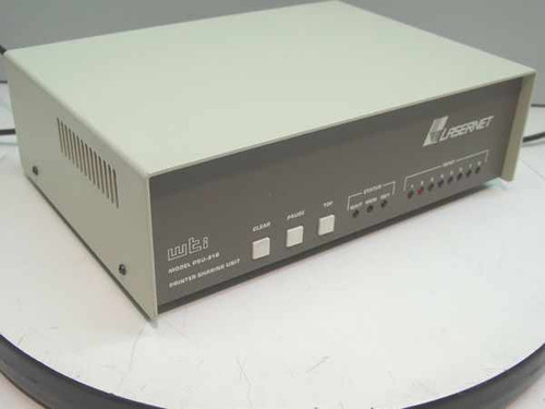 WTI Lasernet Printer Sharing Unit 256k Serial - Parallel PSU-81B