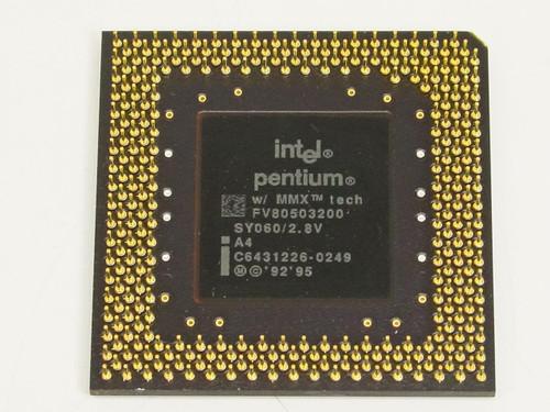 Intel Pentium MMX 200MHz Processor FV80503200 (SY060)