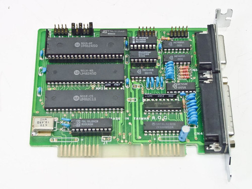 Dynova  Serial / Parallel I/O Card  6 x 5 x 1