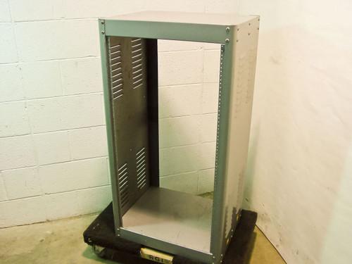 "Green 19"" Small Metal Rackmount Chassis (20U)"