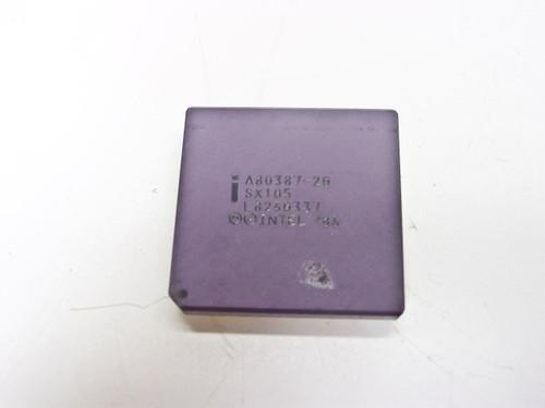 Intel A80387-20 386 Math Coprocessor 25MHz (SX105)