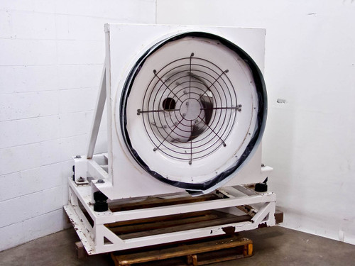 Huntair 25 HP 32 Inch 15,000 CFM 460V Blower Handler Fan with Stand RCU-4 LH