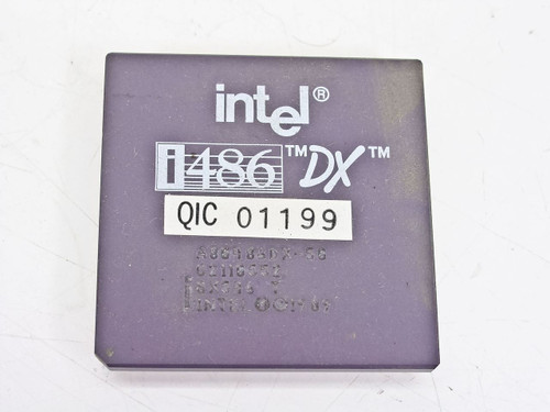 Intel 486DX- 50Mhz Processor  SX546