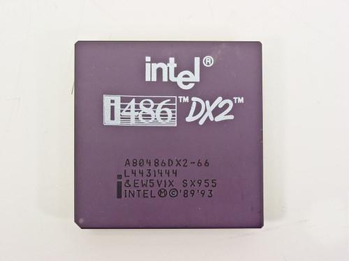Intel 486DX2/66 Processor A80486DX2-66 (SX955)