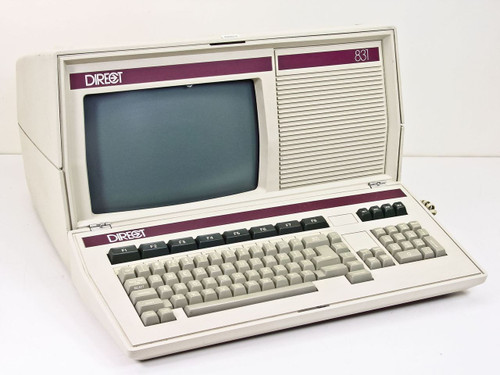 Direct  831 Vintage Desktop Computer Monitor w/ keyboard