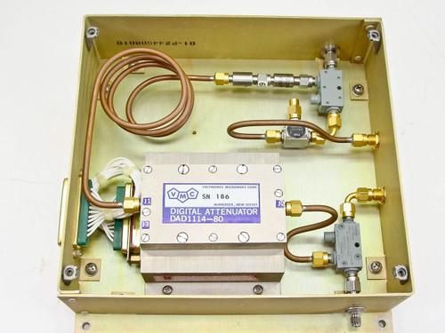 Vectronics Microwave Enclosure w/Omni Spectra 2020 RF Attenuators - DAD1114-80