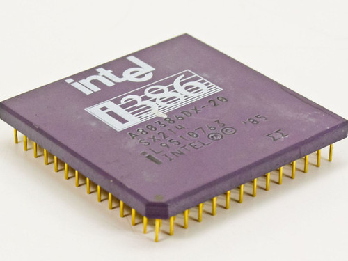 Intel 386DX-20 Mhz CPU A80386DX-20 (SX214)
